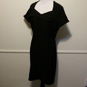 Retrolicious Folter Black PinUp Dress NEW Small